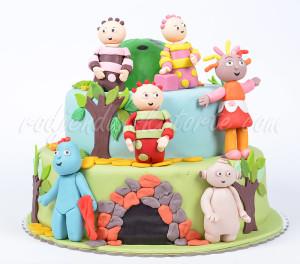 Rođendanska torta Night Garden