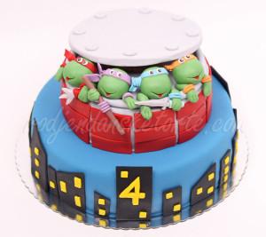 Rodjendanska torta Nindža kornjače