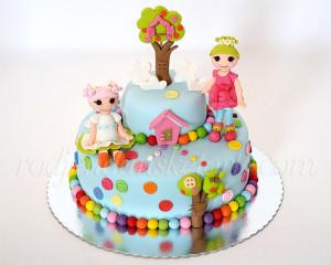 Deca su ukras sveta, a Lalaloopsy lutke ukras torte :)