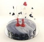 rodjendanska torta sa srcima za kostu