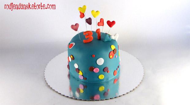 rodjendanska torta sa tufnicama