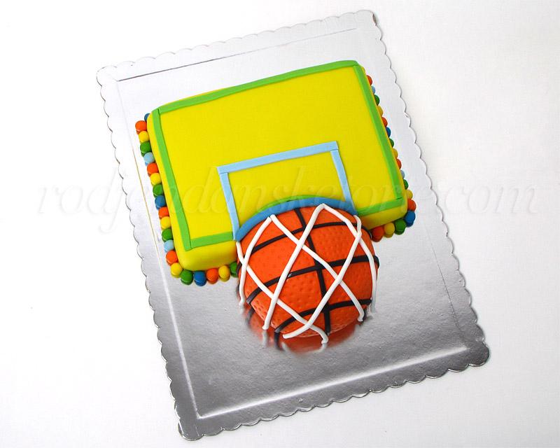 Rođendanska torta - šareni koš
