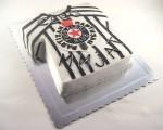 rodjendanska torta u obliku dresa partizana