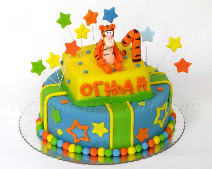 Šarena torta sa tigrom