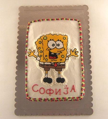 sundjer bob torta