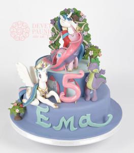 Svečana torta Moj mali poni