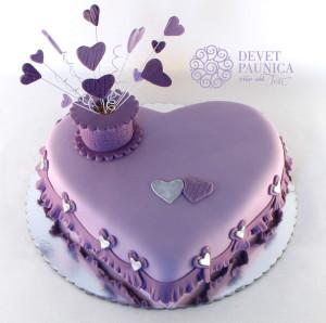 Svečana torta srce