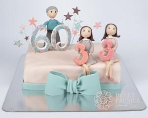 Svecana torta za 60 i 33 rodjendan