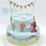 svecana-torta-za-prvi-rodjendan-svecani-broj-1-i-pticice