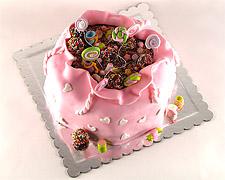 torta u obliku poklona