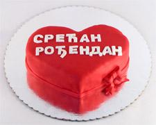 torta srce srecan rodjendan