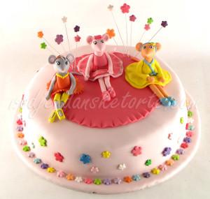 Torta Andjelina balerina i drugarice