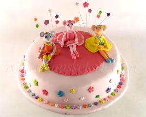 torta-andjelina-balerina-sa-drugaricama