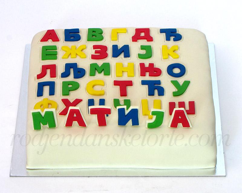 torta azbuka