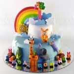 torta-sa-baby-tv-junacima-duga