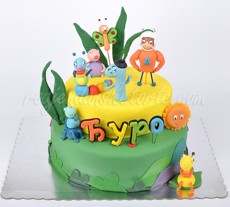 Baby Tv torta sa atomskim mravom i bubicama