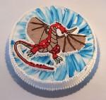 torta bakugan zmaj