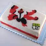torta ben 10 - cetvororuki