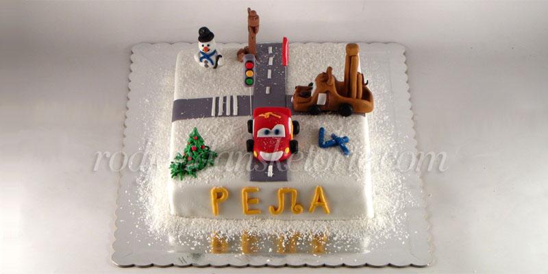 torta-cars-novogodisnja