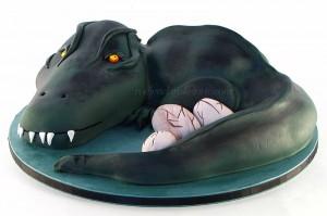 torta-dinosaurus-cuva-jaja-mladunaca