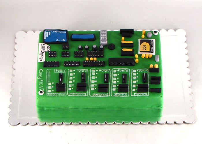 torta elektronska stampana ploca za Mikroelektroniku