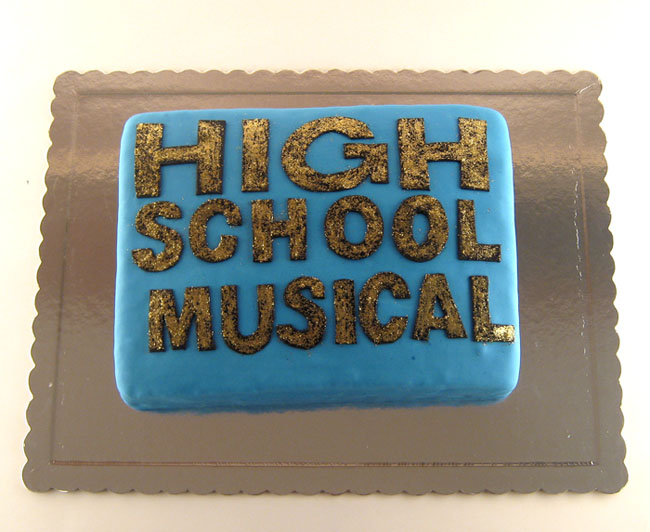 torta fanova high school musical