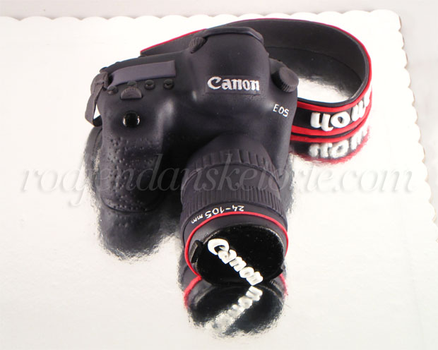 torta fotoaparat canon