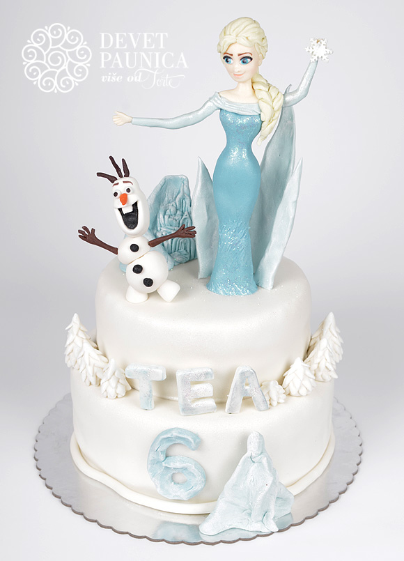 torta-frozen-zaledjeno-kraljevstvo