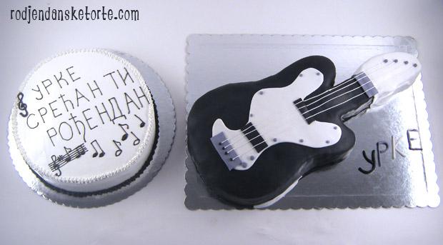 torta gitara i torta sa notama