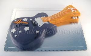 torta hana montana gitara