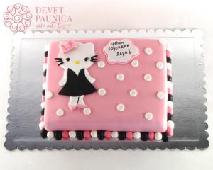 Hello Kitty od šlaga