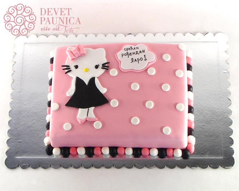 torta-hello-kity-u-crnoj-haljinici