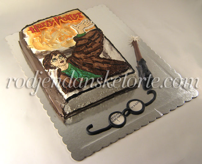 torta knjiga o hari poteru