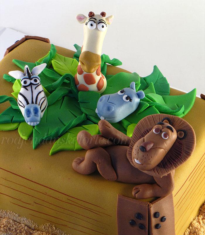 torta-madagaskar-lav-zebra-zirafa-nilski-konj