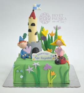 Bjankino Malo kraljevstvo - dečija torta