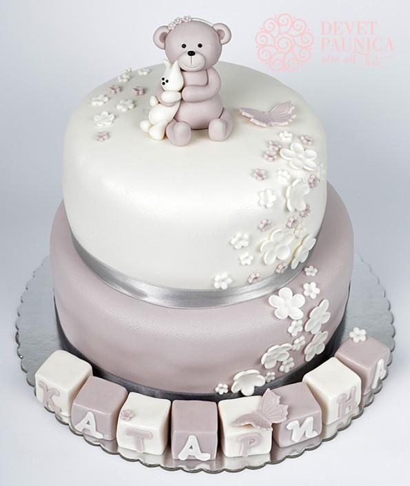 torta sa medom i kockicama