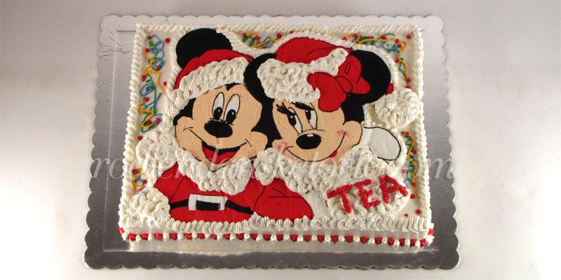 torta-miki-i-mini-novogodisnja