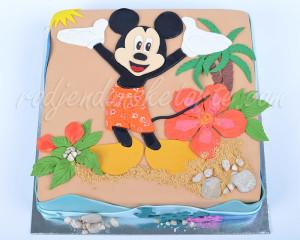 Ovde, sa Mikijem na Havajima je tako lepo...More nije slano, već slatko, pesak je od plazme...