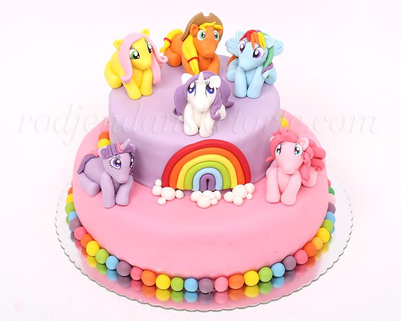torta-moj-mali-poni-sa-figuricama