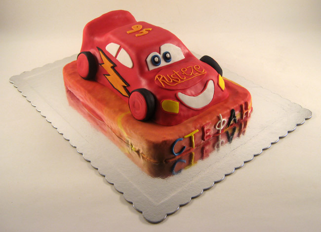 torta munja cars na sprat za stefana