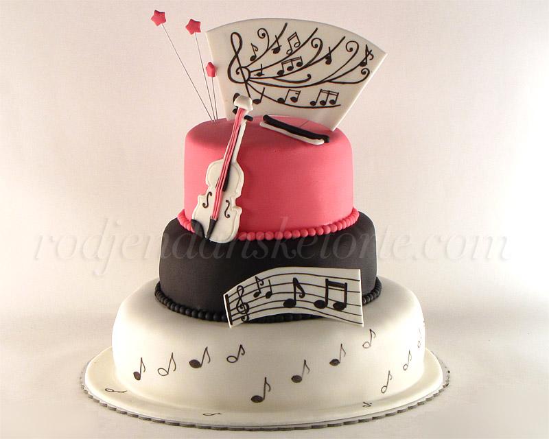 torta muzika violine