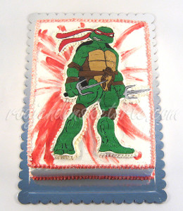 Torta Nindža kornjača Rafaelo šlag