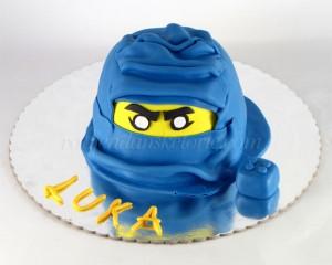 Torta Ninjago glava