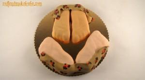torta o dva zaljubljena stopala