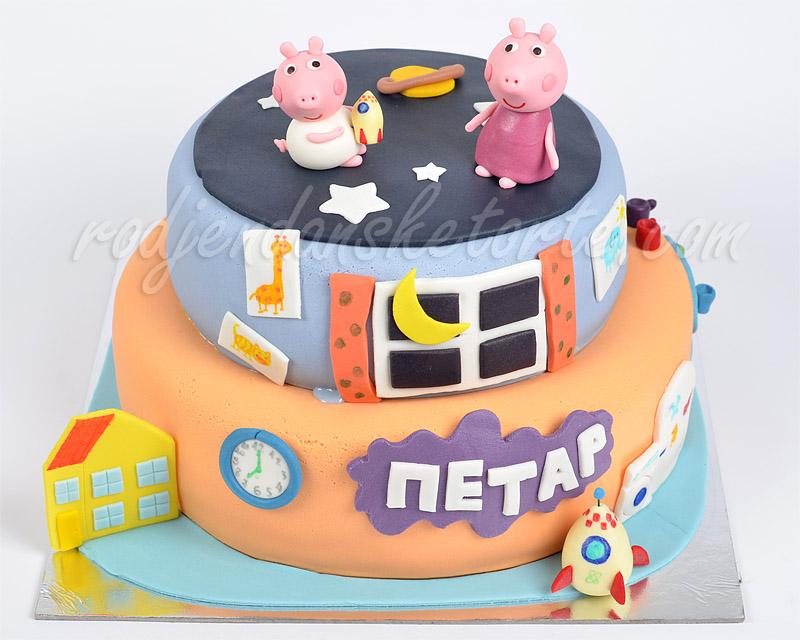 torta-pepa-i-dzordz-u-spavacoj-sobi