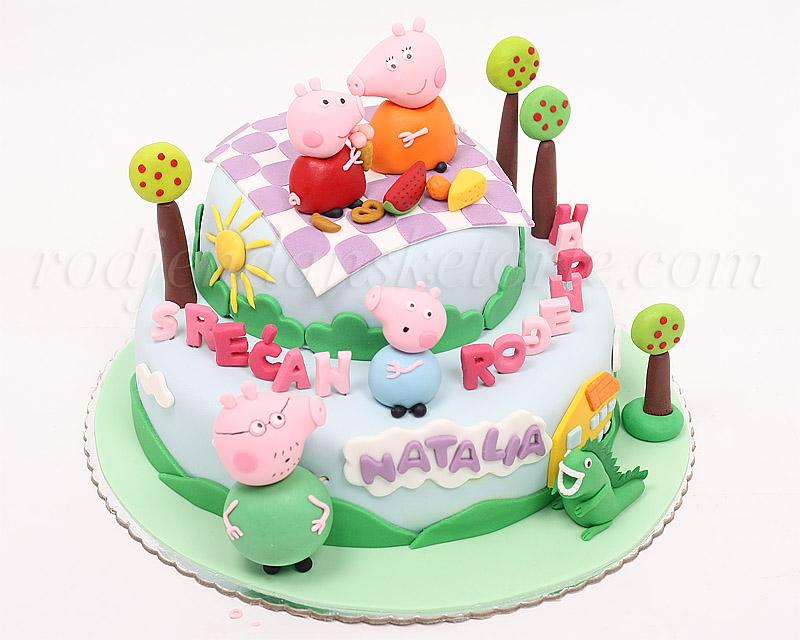 torta-pepa-prase-i-porodica-piknik