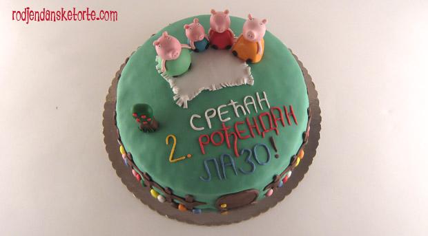 torta pepa prase sa cestitkom