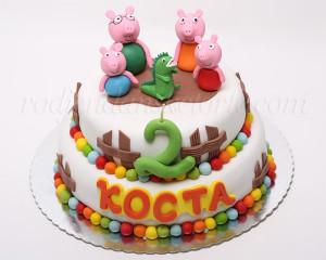 Pepa prase i Džordž su u ovoj epizodi gosti na dečijoj torti :)