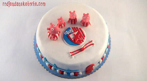 torta Pepa prasići zvezdaši