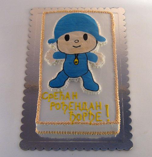 torta pocoyo za decaka